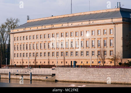 Government building of Lower Silesia in Wroclaw, Poland 2018 - Stock Photo