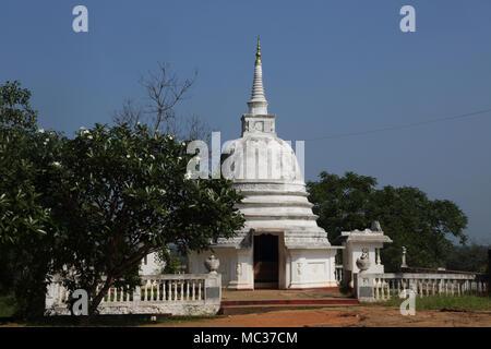Avukana Ancient Rock Temple Kekirawa North Central Province Sri Lanka Avukana Dagoba - Stock Photo