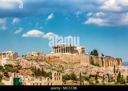 Acropolis of Athens, Greece - Stock Photo