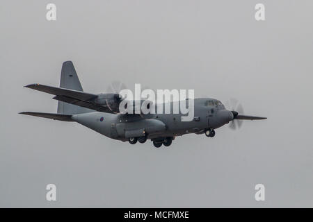 Lockheed C-130J Hercules C Mk 4 - Stock Photo