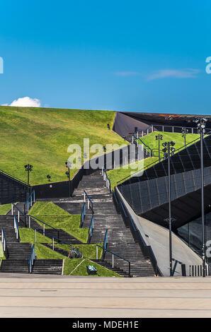 View Point in center of Katowice city, Silesia, Poland. - Stock Photo