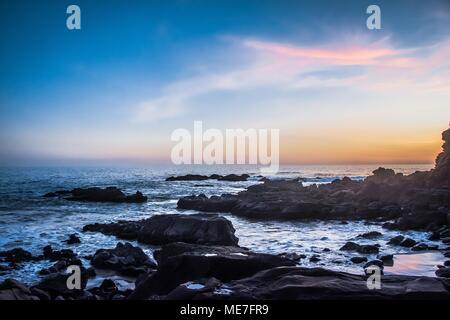 Laguna Beach, California Sunset - Stock Photo