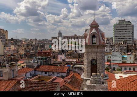 Roofs of Havana - Stock Photo