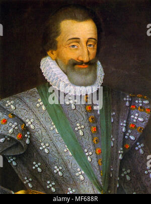 HENRY IV OF FRANCE (1553-1610) - Stock Photo