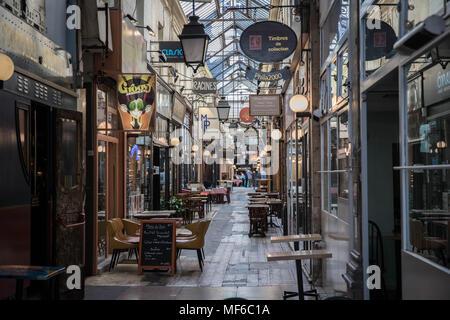 Passage des Panoramas, Paris - Stock Photo