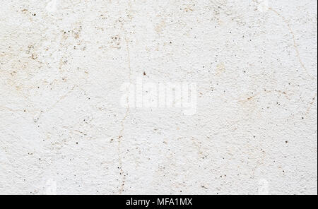 High detailed fragment white stone wall. White wall background, abstract pattern. - Stock Photo