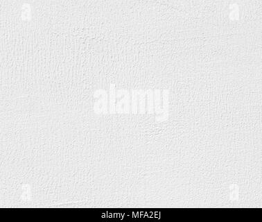 White painted plaster wall background, abstract pattern. High detailed fragment of white stone wall. - Stock Photo