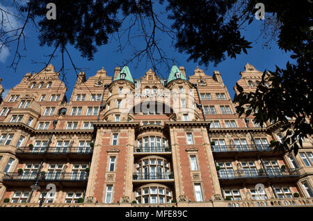 The Principal London Hotel in Russell Square, Bloomsbury, London, UK - Stock Photo