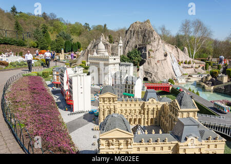 Miniland France at Legoland Windsor Resort, Windsor, Berkshire, England, United Kingdom - Stock Photo