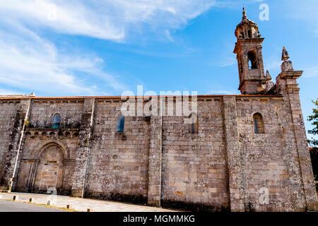 Monasterio de Santa María. Xunqueira de Espadanedo. Ourense. Galicia. España - Stock Photo
