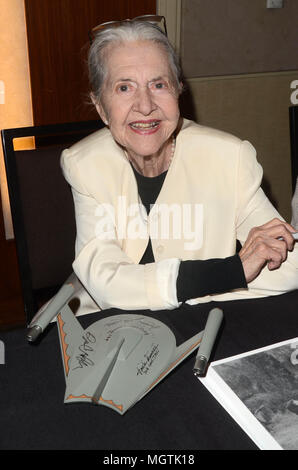 Los Angeles, Ca, USA. 28th Apr, 2018. Joanne Linville at The Hollywood Show at the Westin LAX in Los Angeles, California on April 28, 2018. Credit: David Edwards/Media Punch/Alamy Live News - Stock Photo