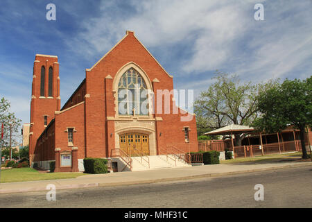 Grace Evangelical Lutheran Church in Tucson - Stock Photo