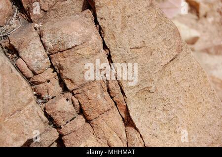 A massive limestone in Spain - Stock Photo