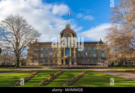 Palais du Rhin in Strasbourg - Alsace, France - Stock Photo