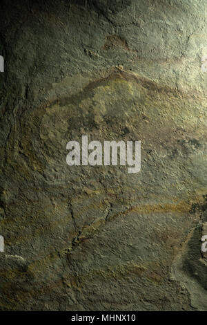 Stone texture background. Landscape like structures in green, rust and gold. Close up detail. - Stock Photo