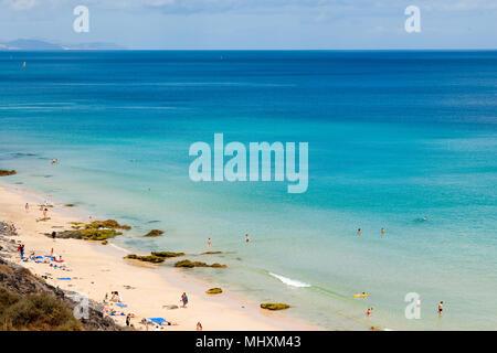 beach, Fuerteventura, Canary Islands, Spain, Europe, Atlantic / Fuerteventura | Strand, Fuerteventura, Kanarische Inseln, Kanaren, Spanien, Europa, At - Stock Photo