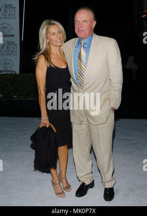James Caan and wife Linda arriving at the 'Robb Report's Best of the Best' to benefit the Children's Lifesaving Foundation ' at the Santa Monica Airport in Los Angeles. August 28, 2004.          -            CaanJames_Linda13.JPG           -              CaanJames_Linda13.JPGCaanJames_Linda13  Event in Hollywood Life - California,  Red Carpet Event, Vertical, USA, Film Industry, Celebrities,  Photography, Bestof, Arts Culture and Entertainment, Topix Celebrities fashion /  from the Red Carpet-, Vertical, Best of, Hollywood Life, Event in Hollywood Life - California,  Red Carpet , USA, Film Ind - Stock Photo