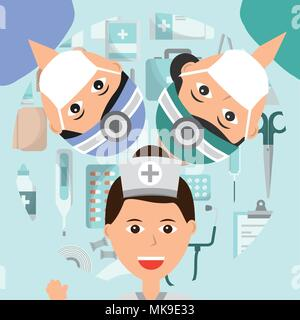 people medical profession - Stock Photo