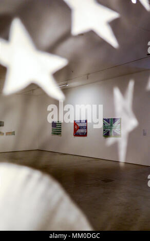 Cracow, Poland - May 8, 2018: Exibition Motherland in Art at Mocak in Krakow. Robert Longo - Hard Times Credit: Wieslaw Jarek/Alamy Live News - Stock Photo