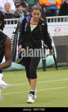 Liverpool,Uk, Swiss professional tennis player belinda-bencic plays at Liverpool Tennis Tournament credit Ian Fairbrother/Alamy - Stock Photo
