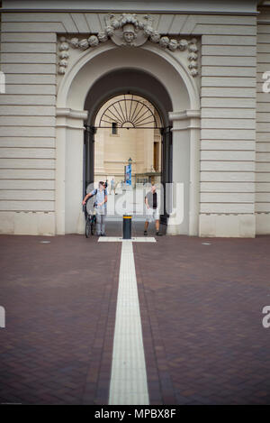31st August 2017, Potsdam, GERMANY.  Fortunaportal Arched entrance to the Historical Market Square, © Peter SPURRIER - Stock Photo