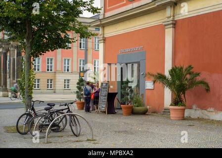 31st August 2017, Potsdam, GERMANY. Bar Genusswerkstatt Restaurant Potsdam, © Peter SPURRIER, - Stock Photo