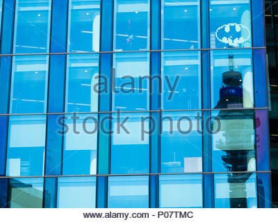 Regents Place, New Development, Camden, London, England, UK, GB. - Stock Photo
