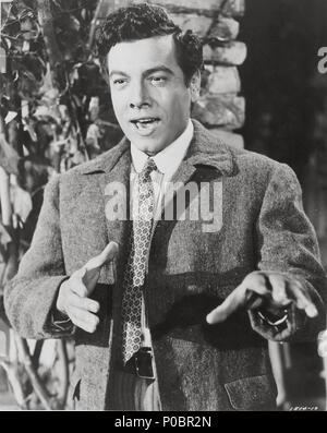 Original Film Title: THE GREAT CARUSO.  English Title: THE GREAT CARUSO.  Film Director: RICHARD THORPE.  Year: 1951.  Stars: MARIO LANZA. Credit: M.G.M / Album - Stock Photo