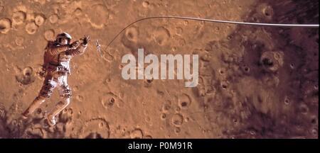 Original Film Title: MISSION TO MARS.  English Title: MISSION TO MARS.  Film Director: BRIAN DE PALMA.  Year: 2000. Credit: TOUCHSTONE PICTURES / McEWAN, ROB / Album - Stock Photo