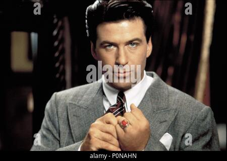 Original Film Title: THE SHADOW.  English Title: THE SHADOW.  Film Director: RUSSELL MULCAHY.  Year: 1994.  Stars: ALEC BALDWIN. Credit: UNIVERSAL PICTURES / NELSON, RALPH / Album - Stock Photo