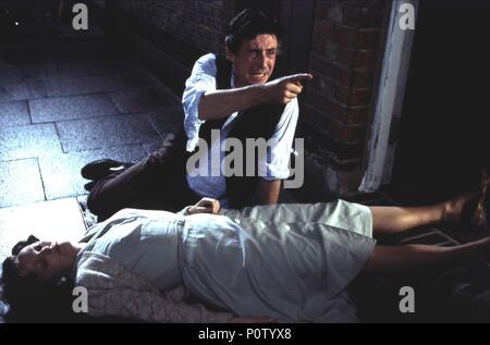 Original Film Title: SPIDER.  English Title: SPIDER.  Film Director: DAVID CRONENBERG.  Year: 2002.  Stars: GABRIEL BYRNE. Credit: SONY PICTURES CLASSICS / Album - Stock Photo