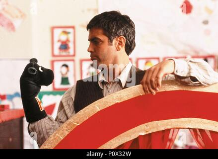 Original Film Title: ONE FINE DAY.  English Title: ONE FINE DAY.  Film Director: MICHAEL HOFFMAN.  Year: 1996.  Stars: GEORGE CLOONEY. Credit: 20TH CENTURY FOX / LA MANA, GEMMA / Album - Stock Photo