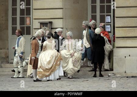 Original Film Title: MARIE ANTOINETTE.  English Title: MARIE ANTOINETTE.  Film Director: SOFIA COPPOLA.  Year: 2006. Credit: COLUMBIA PICTURES CORPORATION/AMERICAN ZOETROPE / Album - Stock Photo
