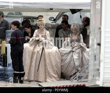 Original Film Title: MARIE ANTOINETTE.  English Title: MARIE ANTOINETTE.  Film Director: SOFIA COPPOLA.  Year: 2006.  Stars: MOLLY SHANNON; SHIRLEY HENDERSON. Credit: COLUMBIA PICTURES CORPORATION/AMERICAN ZOETROPE / Album - Stock Photo