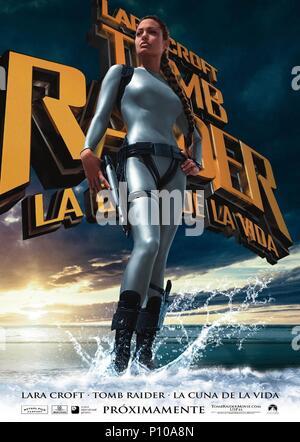 Original Film Title: LARA CROFT TOMB RAIDER: THE CRADLE OF LIFE.  English Title: LARA CROFT TOMB RAIDER: THE CRADLE OF LIFE.  Film Director: JAN DE BONT.  Year: 2003. Credit: PARAMOUNT PICTURES / Album - Stock Photo