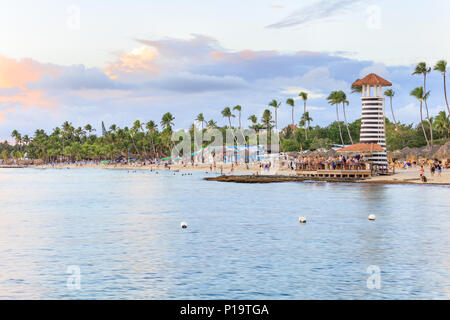 Vacation in Dominican Republic - Stock Photo