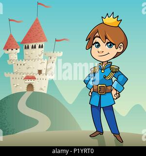 Little Prince Background - Stock Photo
