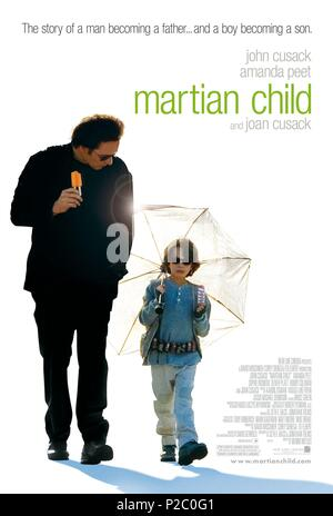 Original Film Title: MARTIAN CHILD.  English Title: MARTIAN CHILD.  Film Director: MENNO MEYJES.  Year: 2007. Credit: NEW LINE CINEMA / Album - Stock Photo