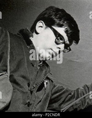 . English: This film is an image of cast member of the film 'Night of The Living Dead. 1968. Image Ten 21 Gary Streiner in 'Night of The Living Dead (1968)' - Stock Photo