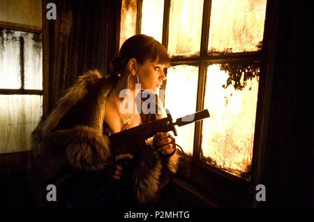 Original Film Title: MAX PAYNE.  English Title: MAX PAYNE.  Film Director: JOHN MOORE.  Year: 2008.  Stars: MILA KUNIS. Credit: ABANDON ENTERTAIMENT/COLLISION ENTERTAINMENT/DEPTH ENTERTAIN / GIBSON, MICHAEL / Album - Stock Photo