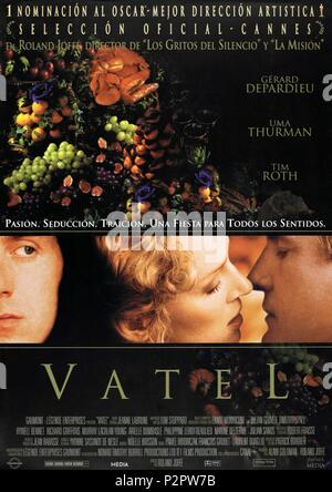 Original Film Title: VATEL.  English Title: VATEL.  Film Director: ROLAND JOFFE.  Year: 2000. Copyright: Editorial inside use only. This is a publicly distributed handout. Access rights only, no license of copyright provided. Mandatory authorization to Visual Icon (www.visual-icon.com) is required for the reproduction of this image. Credit: GAUMONT / Album - Stock Photo