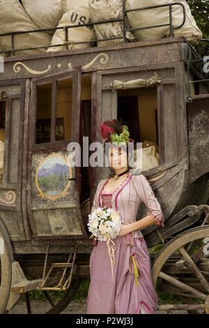 Original Film Title: MAIL ORDER BRIDE-TV.  English Title: MAIL ORDER BRIDE-TV.  Film Director: ANNE WHEELER.  Year: 2008.  Stars: DAPHNE ZUNIGA. - Stock Photo