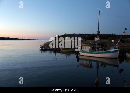 Poland, Mikoszewo, at the mouth of the Vistula (Wysla) to the Baltic Sea - Stock Photo