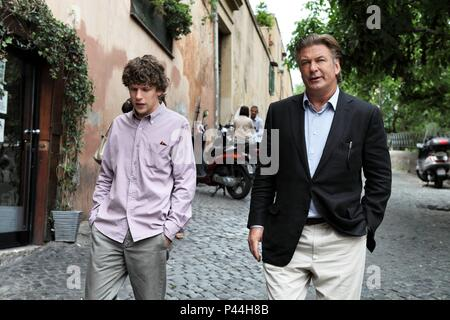 Original Film Title: TO ROME WITH LOVE.  English Title: TO ROME WITH LOVE.  Film Director: WOODY ALLEN.  Year: 2012.  Stars: ALEC BALDWIN; JESSE EISENBERG. Credit: MEDUSA FILM / Album - Stock Photo
