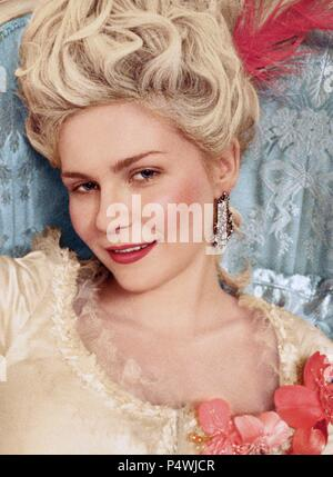 Original Film Title: MARIE ANTOINETTE.  English Title: MARIE ANTOINETTE.  Film Director: SOFIA COPPOLA.  Year: 2006.  Stars: MARIE ANTOINETTE VON FRANKREICH; KIRSTEN DUNST. Credit: COLUMBIA PICTURES CORPORATION/AMERICAN ZOETROPE / Album - Stock Photo