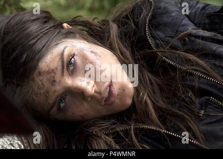 Original Film Title: THE 100.  English Title: THE 100.  Film Director: JASON ROTHENBERG.  Year: 2014.  Stars: MARIE AVGEROPOULOS. Credit: BONANZA PRODUCTIONS / Album - Stock Photo