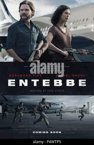 Original Film Title: ENTEBBE.  English Title: ENTEBBE.  Film Director: JOSE PADILLA.  Year: 2018. Credit: PARTICIPANT MEDIA/PELLIKOLA / Album - Stock Photo