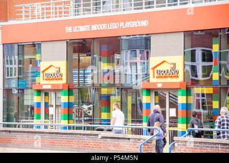 Lego Playground, Birmingham, UK - Stock Photo