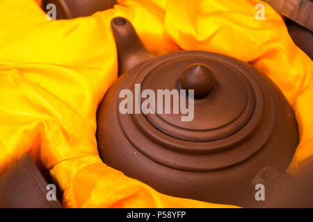Chinese Teapot - Stock Photo