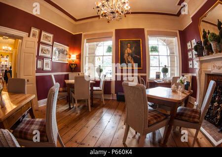 No. 6 The Square Tearooms, Buxton, Derbyshire, interior - Stock Photo
